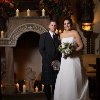 Candlelit wedding for two